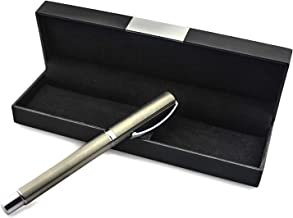 Swisslaw Luxury Rollerball Fancy Pen   Executive Branded Modern Writing Pens with Black Gel Ink and Luxury Gift Box Set   Modern Business Pen Set