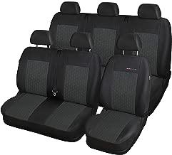 Bus Opel Movano Kunstleder Schonbezug Sitzbezug Sitzbez/üge Sitzschoner Bezug f/ür Vordersitze zweisitzige und Beifahrerbank mit Kopfst/ützen 1+2