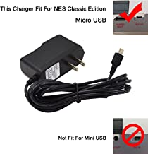 NES Classic Mini Power Supply AC Charger Adapter for Nintendo NES Classic Mini Edition and Super NES Classic 2017