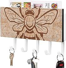 Trieuse de courrier - Crochet de clé mural, Support mural de trieuse de courrier, Organisateur de porte-clé de courrier, D...