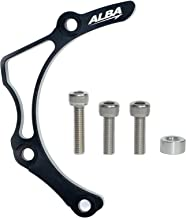 1 Black Steering Stem with 7//8 Anti Vibe Bar Clamp Compatible with Honda TRX 400EX Silver 740 BS