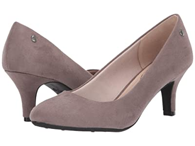LifeStride Parigi (Grey Microsuede) High Heels