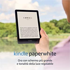 Nuovo Kindle Paperwhite (8 GB) - Ora con schermo da 6,8'' e tonalità della luce regolabile, con pubblicità