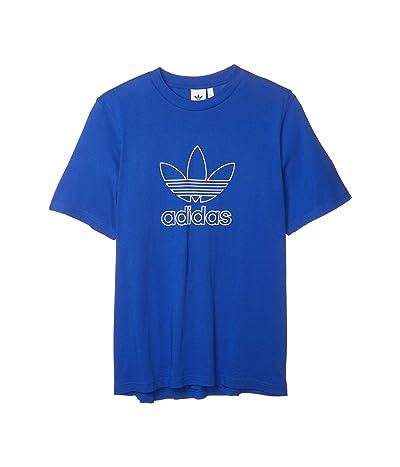 adidas Originals Outline Trefoil Tee (Team Royal Blue) Men