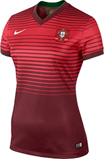 NIKE Portugal Home Stadium Jersey World Cup 2014 [Team Red]