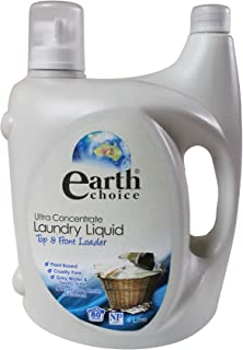 Earth Choice Ultra Concentrated Laundry Liquid, Top & Front Load 4 Ltr