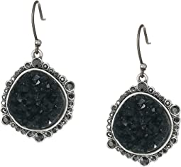 Pave Druzy Earrings