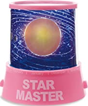GPCT Star Master Starry Sky Shining Stars [Solar System] LED Projection Bed Side Night Light Lamp. Great Mood [Relaxing] Light for Children Kids Baby Infants Nursery Bedroom & Christmas Gift! (Pink)