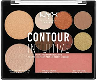 Nyx Contour Intuitive Eye And Face Sculpting Palette 02 Warm Zone