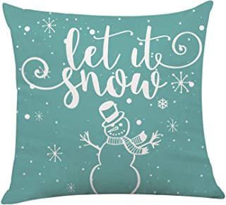Cute Throw Pillow Yellow  Circles Winter Snow 18x18 Square Throw Pillow by Spoonflower Winter Village Snowman by heleen/_vd/_thillart