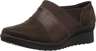 CLARKS Women's Caddell Denali Slip-On Loafer