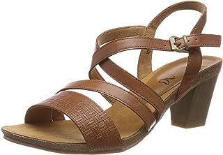a969da2876ea2 CAPRICE Women's Chenoa Ankle Strap Sandals