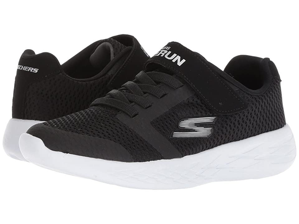 SKECHERS KIDS Go Run 600 (Little Kid/Big Kid) (Black) Boy