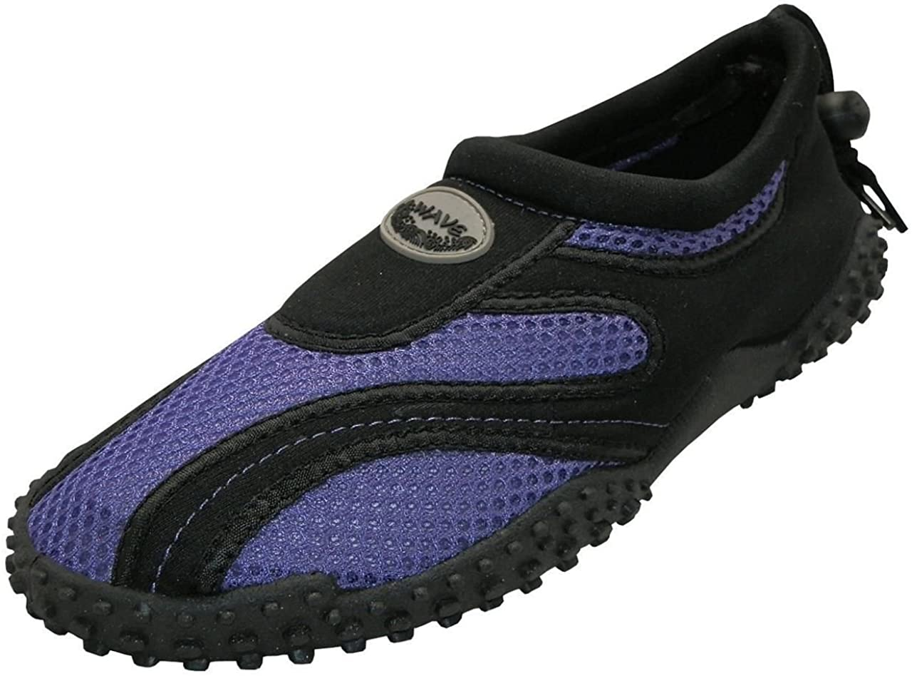 Easy USA Women's Wave Water Shoes - Black