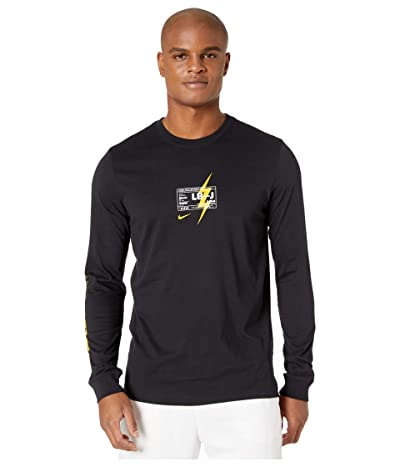 Nike LeBron James Dry Tee Long Sleeve (Black) Men