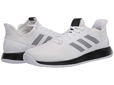 adidas Defiant Bounce 2 (Footwear White/Core Black/Footwear White) Men