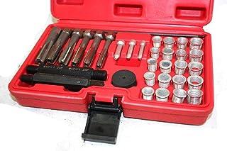 33pcs Cylinder Glow Plug Tap Thread Re-threading Repair Restore Tool