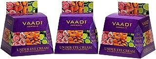 Vaadi Herbals Under Eye Cream, Almond Oil and Cucumber Extract, 30g x 3