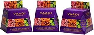 Vaadi Herbals Under Eye Cream, Almond Oil and Cucumber Extract, 30g x 3
