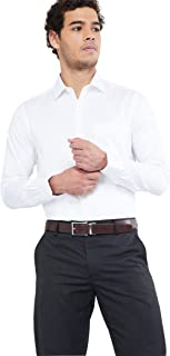 Max Men's Slim Plain Formal Shirt
