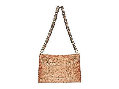 Brahmin Melbourne Mod Lorelei Shoulder Bag (Terracotta) Handbags