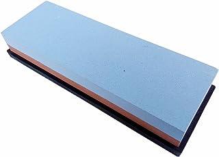NUZAMAS Premium cuchillo afilado piedra 2 lado arena 240/800 piedra de afilar cocina-afilador de cuchillos Waterstone base antideslizante