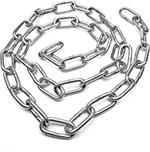 304 Roestvrijstalen Ketting Korte Ring 2.5-22Mm Geschikt Voor Binnen- En Buitengebruik, Laglagerse Kettinglengte 1 Meter,S...