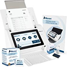 $459 » Raven Original Document Scanner Bundle with Document Scanner Cleaning Wipes and Screen Protector