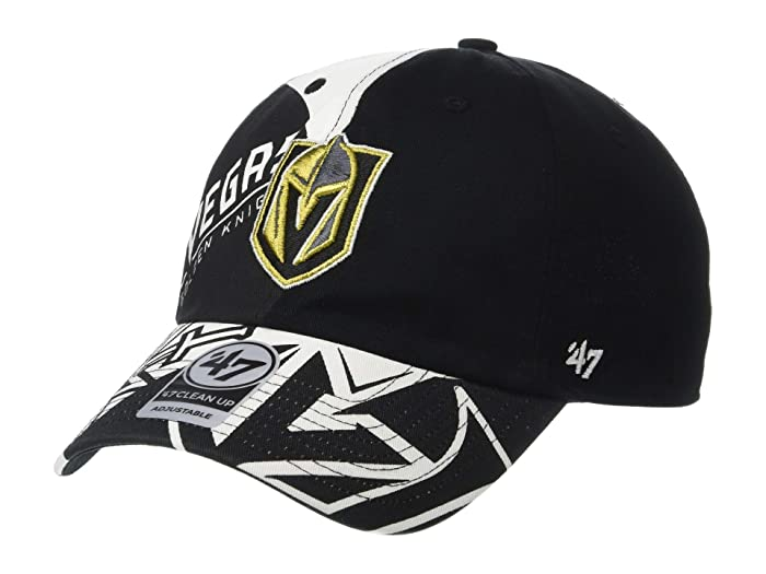 Vegas Golden Knights Patchwork 47 Clean Up Black