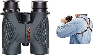 Athlon Optics Midas Binocular 10x42 ED w/Harness Strap