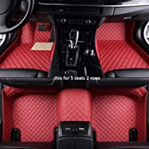 LUVCARPB Alfombrillas Interiores del Coche, aptas para Porsche Cayman Macan Panamera Cayenne Boxster, Accesorios Impermeables para alfombras de Coche