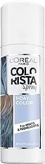L'Oreal Paris Hair Color Colorista 1-Day Spray, Pastelblue, 2 Ounce