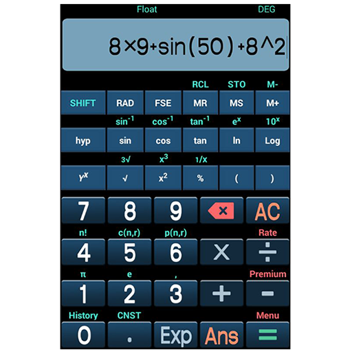 Calculatrice scientifique libre