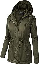 BILY Women Plus Size Anorak Safari Hoodie Jacket