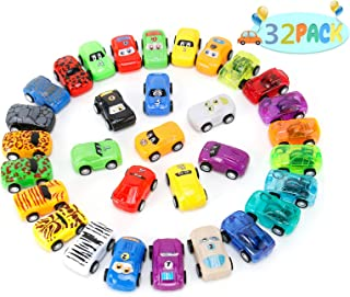 Boys Gifts Toy Cars for Kids Boys Girls Pack of 32 Mini Toy Cars for Kids Girls Boys 3-8 Years Old Cars Toy Set for Childr...
