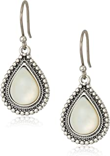 Womens Mother-of-Pearl Drop Earrings