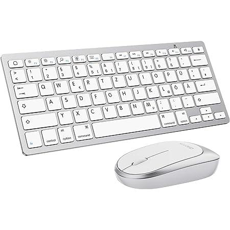 Omoton Bluetooth Tastatur Maus Set Für Ipad 8 2020 Computer Zubehör