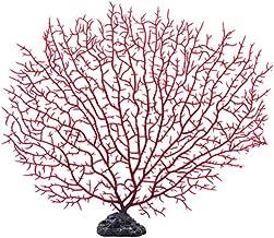 FMJI Aquarium Artificial Coral Tree, Fish Tank Ornaments Underwater Plastic Plant Decoration Landscape by