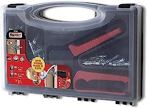 Molly M71940-XJ M71940 Set met 40 metalen pluggen + tang – 30 metalen pluggen 4 x 33 mm – 10 metalen pluggen 5 x 36 mm – m...