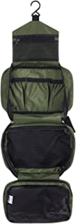 CYBERNOVA Multi-functional Waterproof Compact hanging cosmetic Travel Bag toilet Bag toiletry Bag Washbag Organizer Kits/Cosmetic Pouch/Personal care Hygiene Purse (army-green)