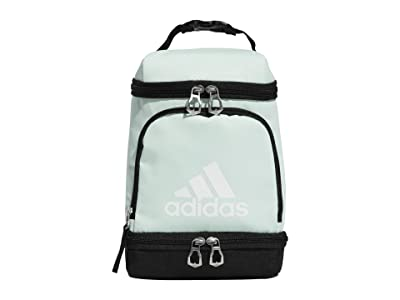 adidas Excel Lunch Bag (Dash Green/Black/White) Bags
