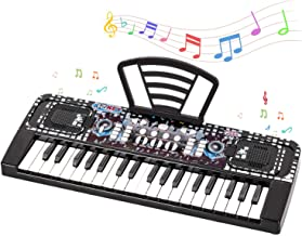 Shayson Kids Piano, 37 Keys Piano Keyboard for Kids Multifunction Portable Piano Electronic Keyboard Music Instrument for Kids Birthday