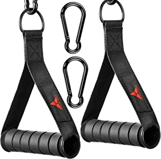 allbingo Solid Gym Handles for Cable Machine Resistance...