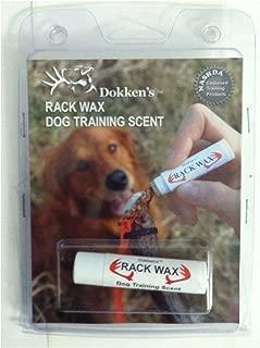 Dokken's Rack Wax Dog Training Scent, .15 Ounce (4.25 Grams)