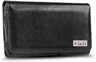 جراب J&D متوافق مع Google Pixel/Pixel 3/Pixel 4a/Pixel 4a 5G/LG Tribute Royal/LG K31 Holster w/Belt Clip, PU Leather Holst...