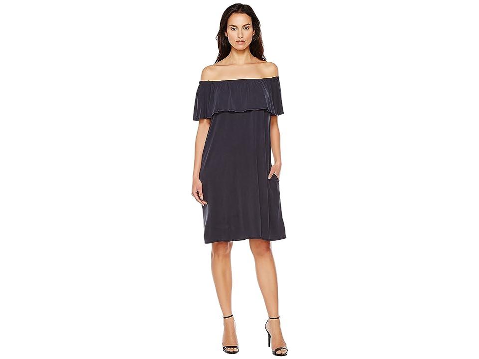 NIC+ZOE Boardwalk Convertible Dress (Washed Midnight) Women