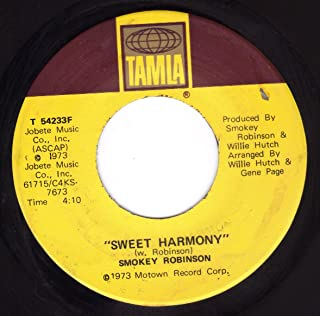 Sweet Harmony/Want To Know My Mind (VG 45 rpm)