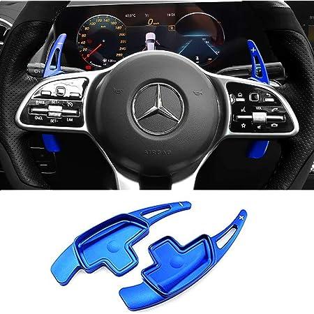 enrilior 2 Pcs//Set Steering Wheel Direct Shift Paddle Extension Compatible with G-o-l-f 5 Carbon Fiber Black