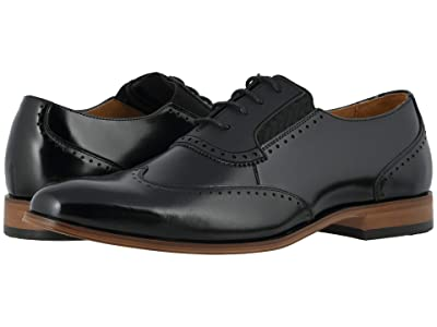 Stacy Adams Sullivan Wing Tip Oxford (Black) Men