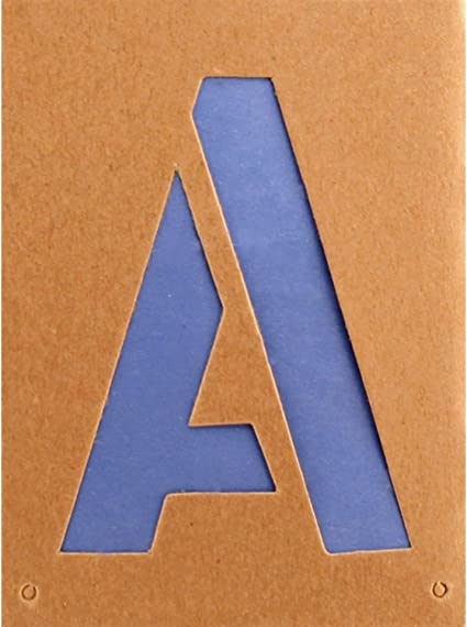 Headline Sign 111 Stencil Set 12-Inch Numbers 0-9 111